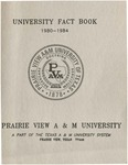 University Fact Book - 1980-1984 by Prairie View A&M University