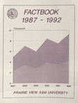 University Fact Book - 1987-1992 by Prairie View A&M University